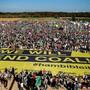 In Deutschland ist der Streit um den Hambacher Forst zum Symbol für die Kritik an der Kohleverstromung geworden. Zehntausende Umweltaktivisten haben am Samstag den gerichtlich durchgesetzten vorläufigen Stopp der Waldrodung gefeiert.