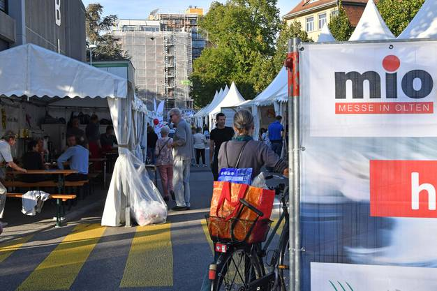 Bis Montagabend steht die rechte Stadtseite wieder im Zeichen der Gewerbeausstellung.