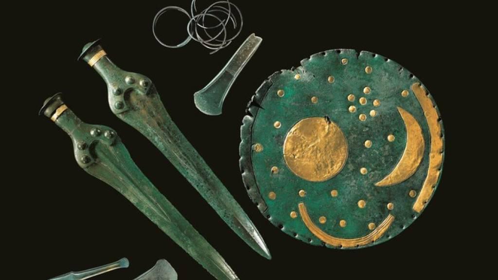 Ursprung der Himmelsscheibe von Nebra in der Bronzezeit