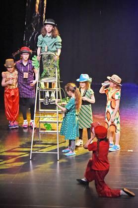 Theater-Tanz Projekt der Primarschule Olten