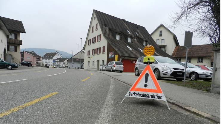 Während einer Verkehrsinstruktion in Kaisten wurde der Regionalpolizei eine Lampe entwendet.