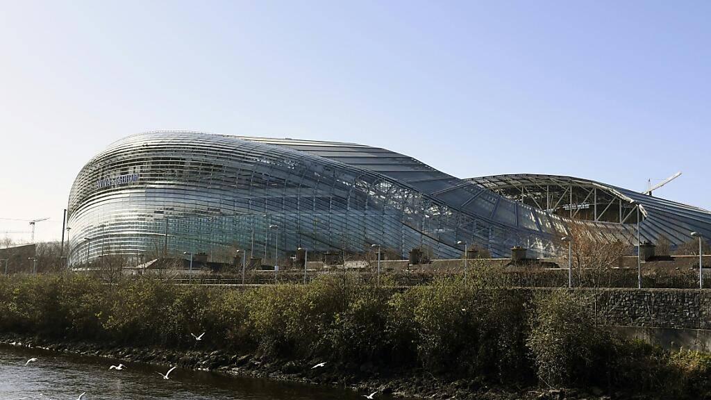 Das Aviva Stadium in Dublin wird in diesem Sommer keine EM-Spiele beheimaten