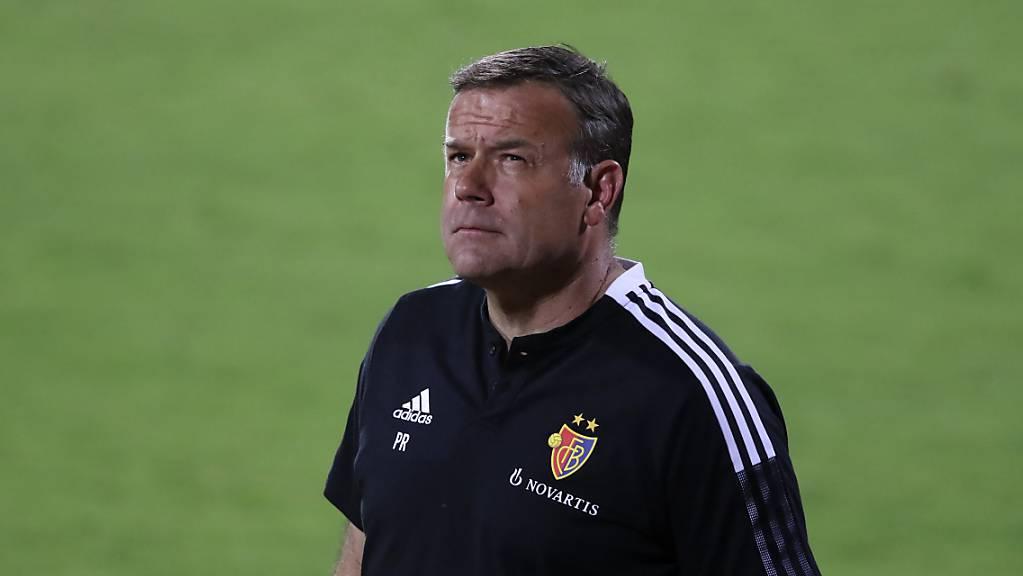 Patrick Rahmen ist mit dem FC Basel auf gutem Weg in die Gruppenphase der Conference League: Den letzten Schritt müssen er und sein Team am Donnerstagabend in Stockholm machen