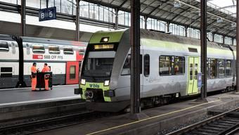 Ein Zug der BLS.