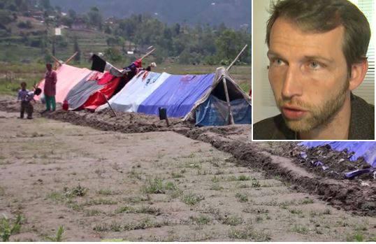Aargauer Hilfe für Erdbeben-Opfer: Der Rombacher Rocco Umbescheidt erzählt bei Tele M1, wie er die Zeit in Nepal erlebt hat.