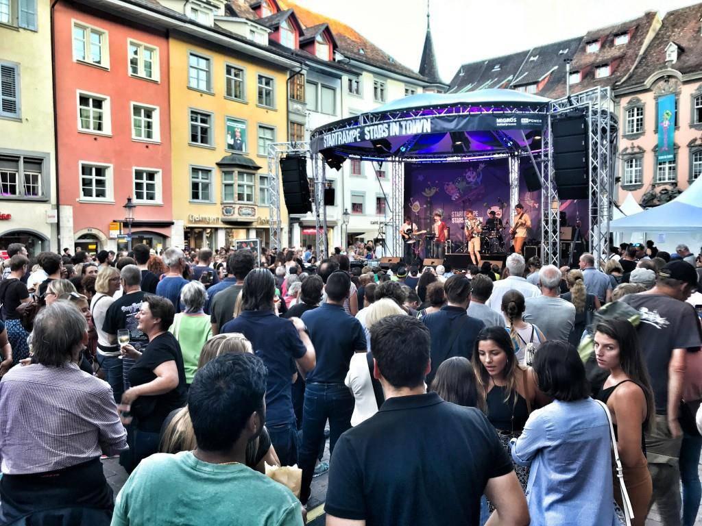 So war der Donnerstag am Stars in Town (© Yves Keller/Radio FM1)