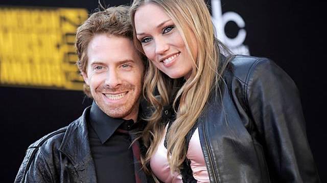 Seth Green mit seiner Verlobten Clare Grant (Archiv)