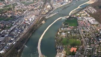 Die beiden Rheinfelden sollen für die Fussgänger gut erreichbar bleiben.