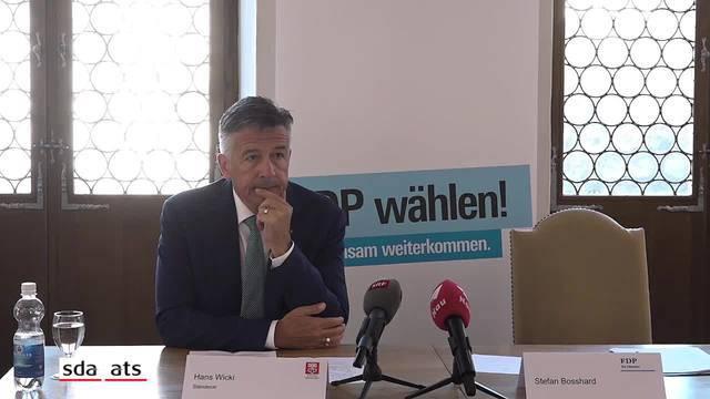 Der Nidwaldner Hans Wicki will in den Bundesrat