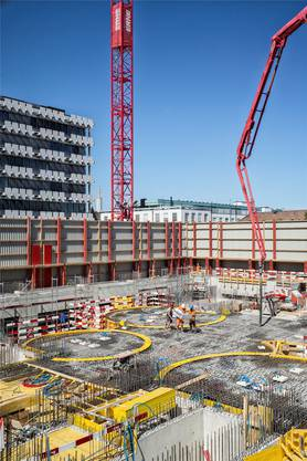 Baustelle Biozentrum