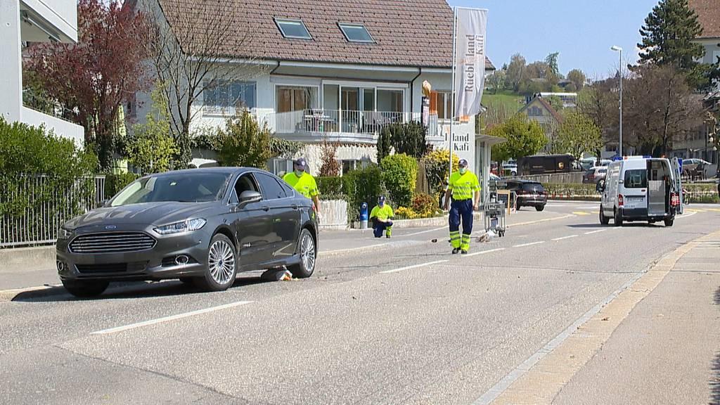 Wohlen (AG): Fussgängerin angefahren und mitgeschleift