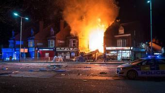 Über die Hintergründe der Explosion ist noch nichts bekannt.