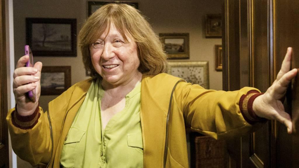 Literaturnobelpreisträgerin Alexijewitsch verlässt Belarus