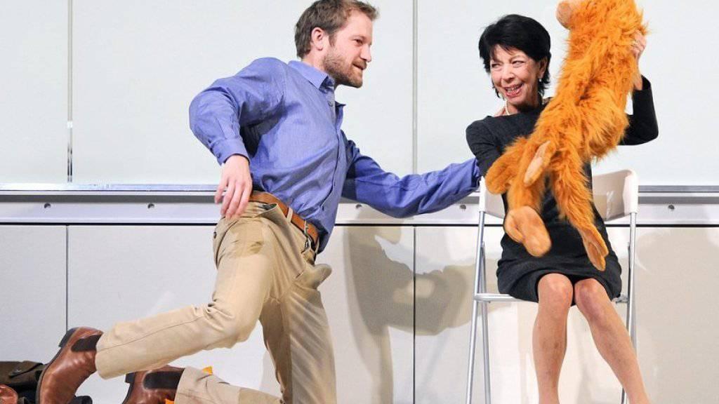 Trauer um Silvia Fenz: Die österreichische Schauspielerin - hier 2011 in «Weiter träumen» im Zürcher Schauspielhaus - ist am Samstagabend in Wien gestorben.