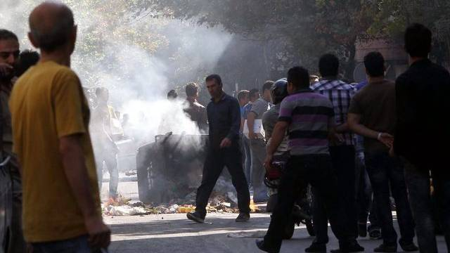 In Teheran kommt es während Protesten zu Ausschreitungen