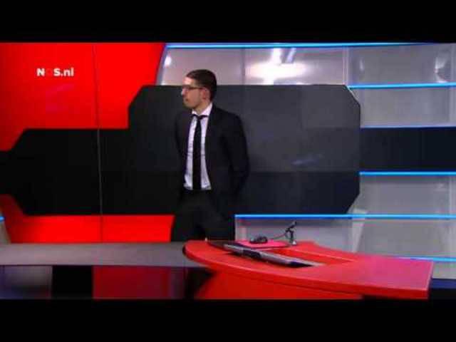 Bewaffneter dringt in niederländisches TV-Studio ein