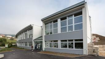 Der neue Anbau des Schulhauses Späri.