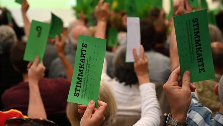 Willensbildung bei den Grünen: Orientiert sich die Partei nach links? Keystone