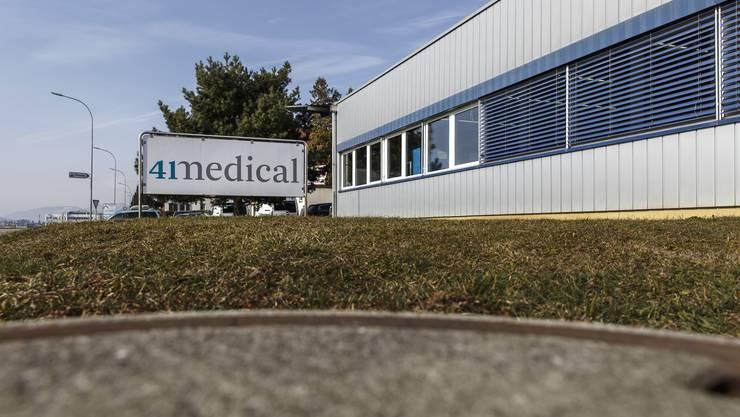 Die Firma 41medical AG in Bettlach: Sitz des neuen Zentrums.