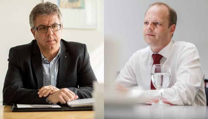 Andreas Gasche und Daniel Probst