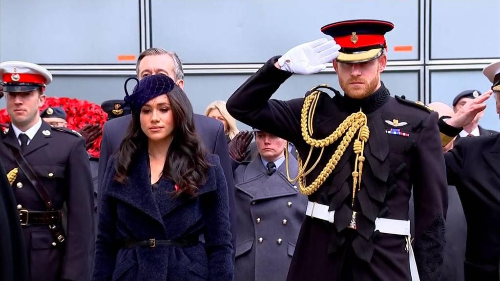 «Megxit»: Queen gibt Prinz Harry ihren Segen