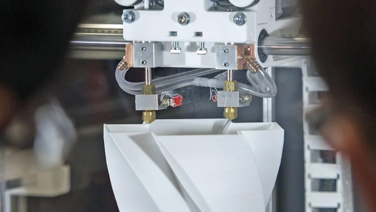 Sollen die industrielle Fertigung von Bauteilen verändern: 3D-Drucker. (Symbolbild)