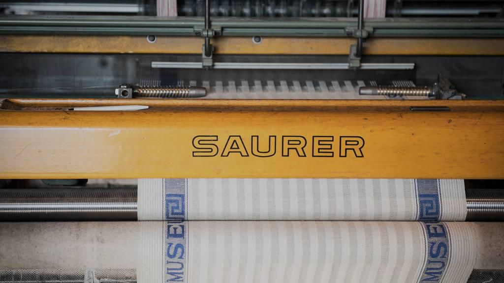 Saurer entlässt 35 Mitarbeiter in Arbon.