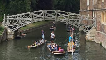 Ein Ausflug zur Mathematical Bridge in Greenwich gehörte auch zum Mobilitätsprojekt in London.