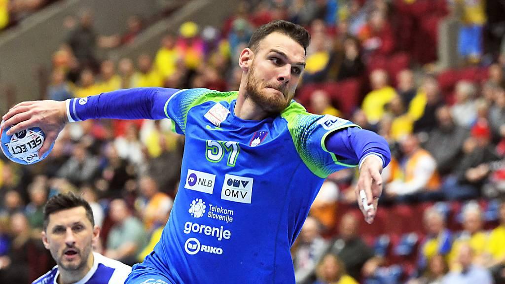 Sloweniens Handballer verlieren erstmals