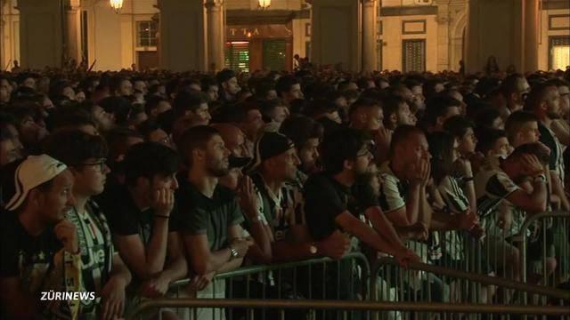 Massenpanik in Turin: Über 1'500 Verletzte