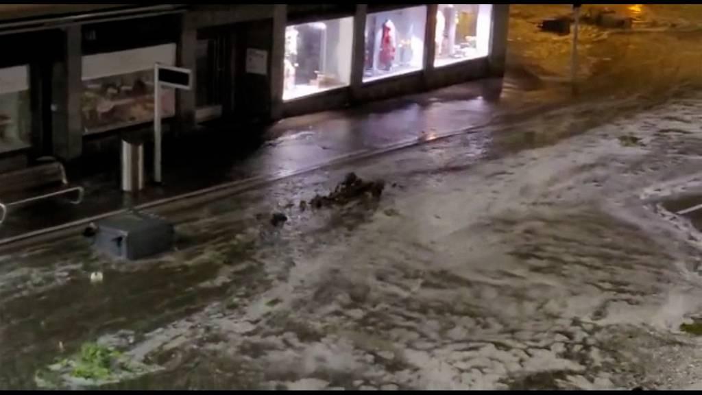 Altstetten besonders betroffen: «Die Hauptstrasse wurde innert Sekunden zum Fluss»