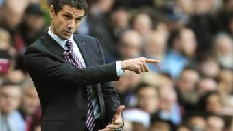 Versucht Aston Villa seit Anfang November vergeblich auf den richtigen Weg zu bringen: der neue Trainer Rémi Garde