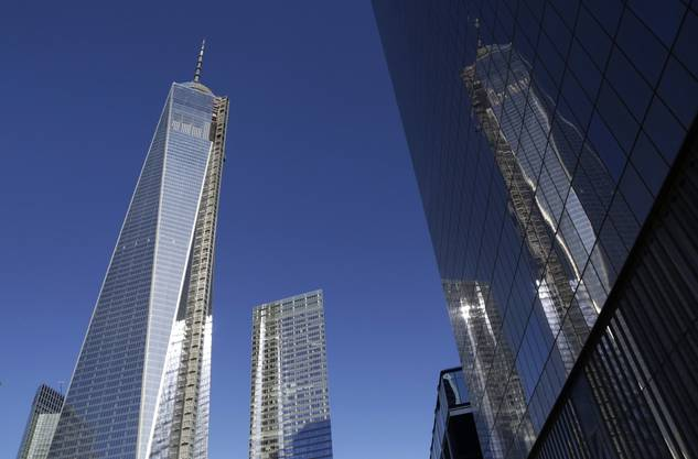 Erster Turm des neuen World Trade Center eröffnet