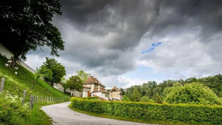 Das Saanebecken mit seinen Abteien und Klöstern, hier jenes von Hauterive, ist zur Landschaft des Jahres 2018 erkoren worden.