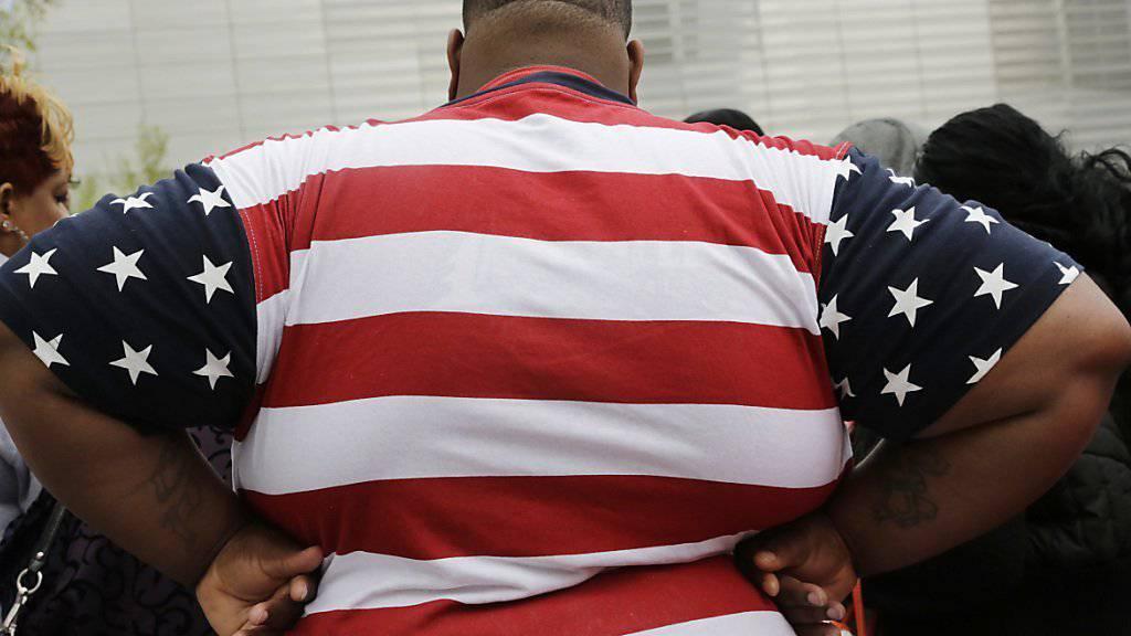 35 Prozent der Männer in den USA haben einem Body-Mass-Index von 30 oder mehr, das heisst, sie gelten als fettleibig. (Symbolbild)