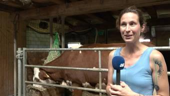 Marina Boller schildert die aufwändige Rettung und wie es Kuh Belinda jetzt geht.