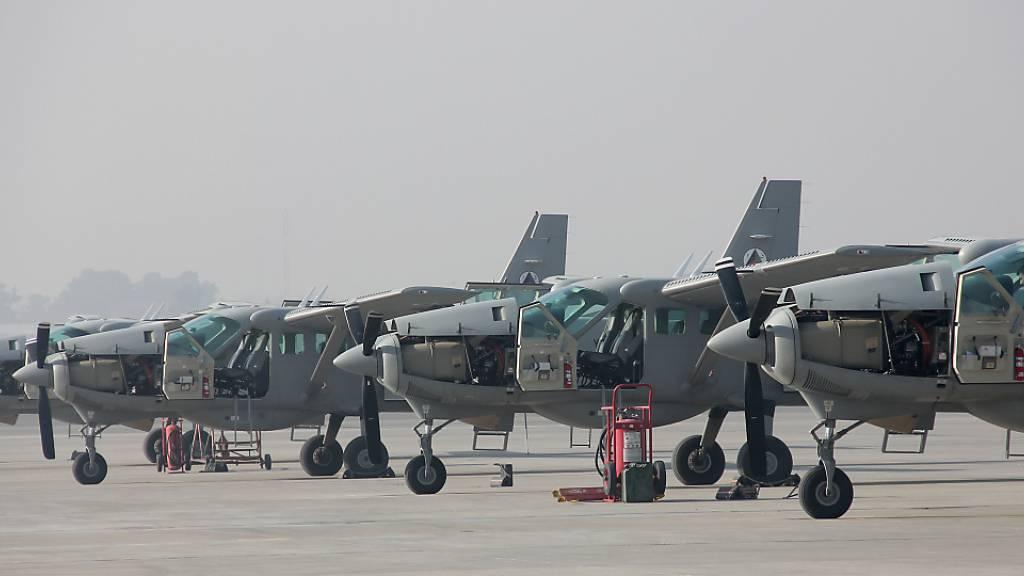 US-Bericht: Afghanische Luftwaffe zunehmend überbeansprucht