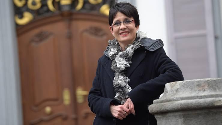 Als Landratspräsidentin 2017/18 blühte Elisabeth Augstburger auf. Vor dem Regierungsamt hat sie Respekt.