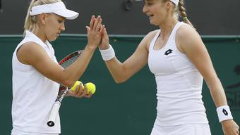 Die Harmonie zwischen Jelena Wesnina (links) und Jekaterina Makarowa