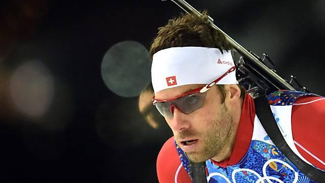 Simon Hallenbarter nahm dreimal an Olympischen Winterspielen teil
