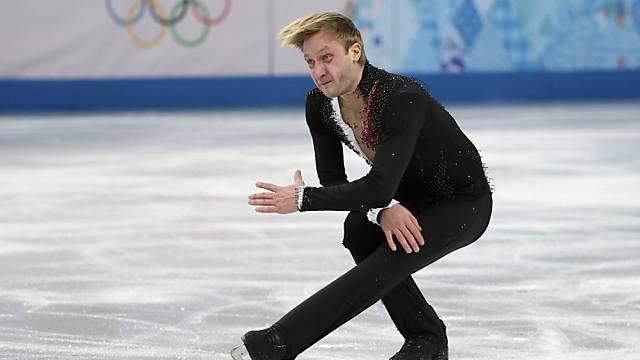 Jewgeni Pluschenko darf mit seinem Comeback mehr als zufrieden sein