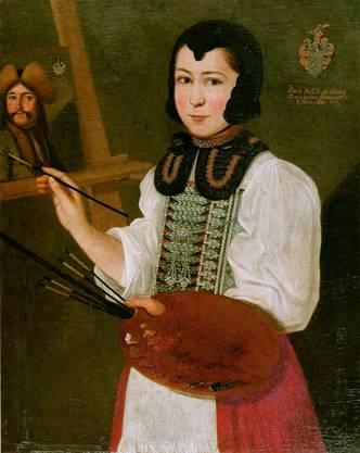 Anna Waser (1678-1714) ist eine der - nur - acht (!) Künstlerinnen, die das Kunsthaus Zürich in seinen 220 Meisterwerken aufgenommen hat.