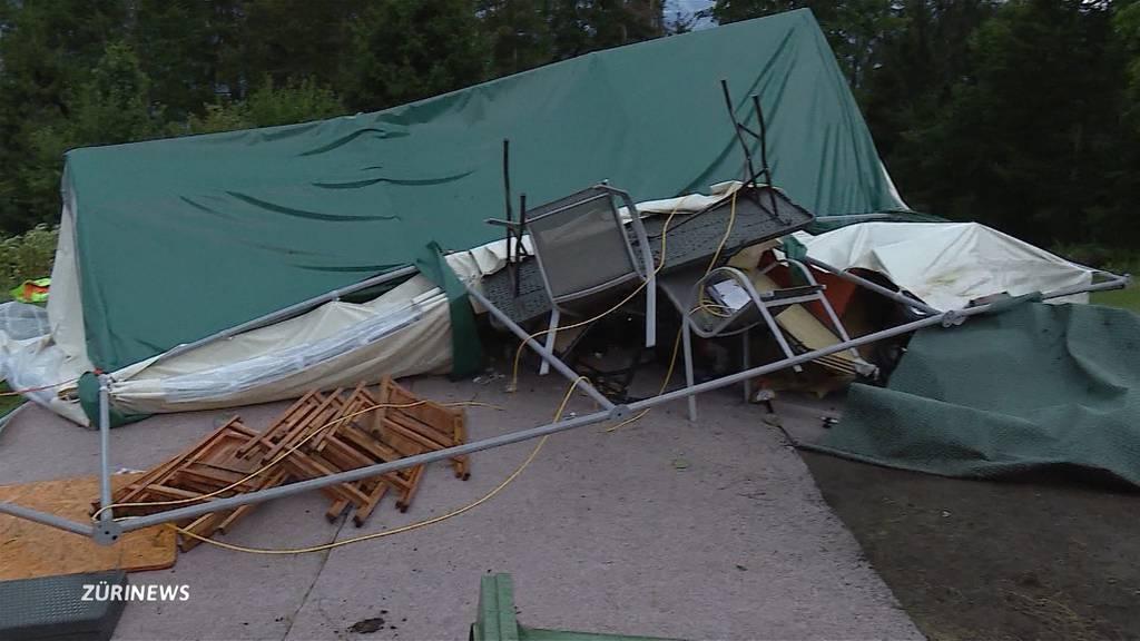 Golfer in Bern vom Blitz getroffen