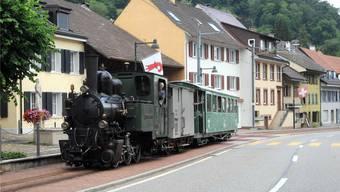«Gedeon Thommen»: Diese Bahn weckt Erinnerungen.