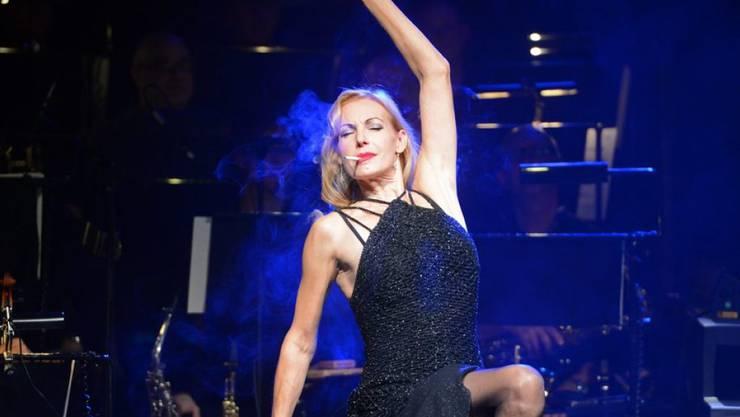 Mit 50 ist sie nochmals so richtig durchgestartet: die deutsche Sängerin und Musicaldarstellerin Ute Lemper. (Archivbild)