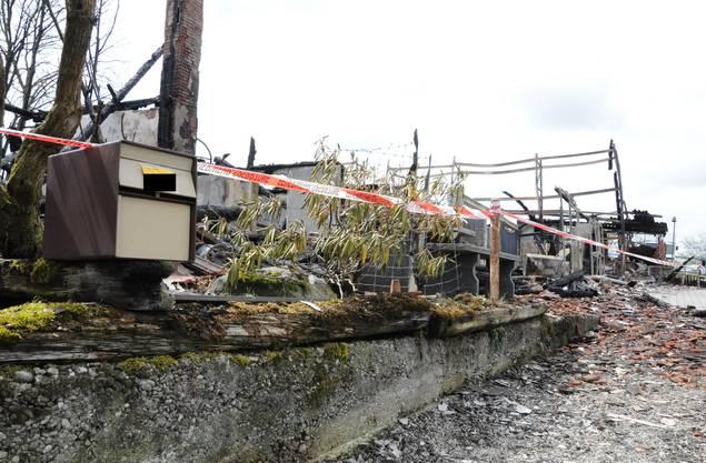 Brand in Brittnau: Der Briefkasten für ein zerstörtes Bauernhaus