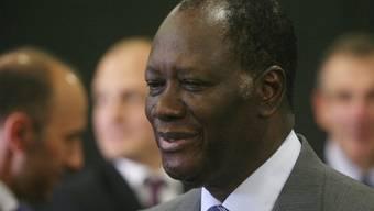 Seinem Amtseid ist ein blutiger Konflikt vorausgegangen: Alassane Ouattara