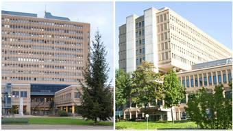 Gegenüberstellung Kantonsspital Baden (KSB) und Kantonsspital Aarau (KSA)