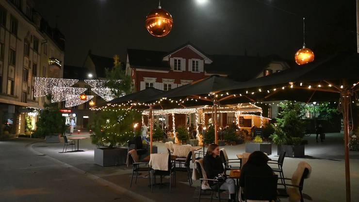 Restaurantbesuch in Coronazeiten: Im Freien ist es sicherer.