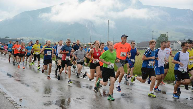 Fast 400 Läuferinnen und Läufer waren auch dieses Jahr am Roggen-Berglauf dabei.